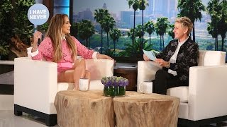 Download J.Lo and Ellen Play Never Have I Ever Video