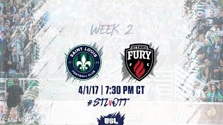 Download USL LIVE - Saint Louis FC vs Ottawa Fury FC 4/1/17 Video