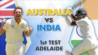 Download Australia vs India, 1st Test, Day 1: Match Story Video