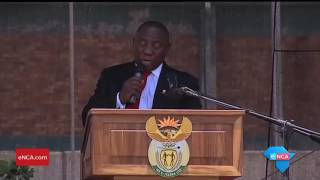 Download Ramaphosa calls for urgent action to reduce high rate of HIV infection Video