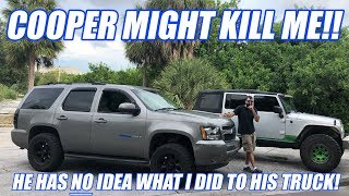 Download I STOLE Coopers Old Fat Hoe And Modded It While He Is Out Of Town! (Don't Be Mad Cooper!) Video