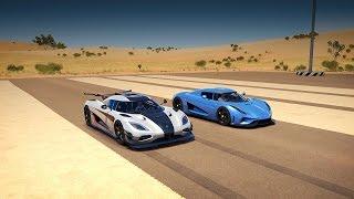 Download Koenigsegg REGERA vs. Koenigsegg ONE:1 Drag Race | Forza Horizon 3 Video