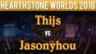 Download Thijs vs Jasonzhou - Hearthstone World Championship 2016: Group A Match 2 Video