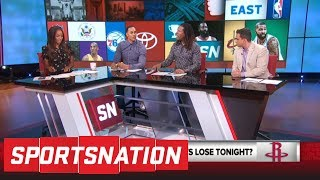 Download If Rockets lose Game 1 of Western Conference finals vs Warriors, 'it's a wrap' | SportsNation | ESPN Video