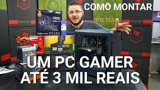 Download « COMO MONTAR um PC GAMER » Até 3 Mil Reais... Montagem Video