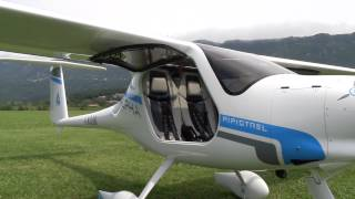 Download Flying Pipistrel's Electric Airplane Video