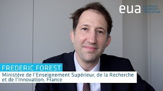 Download 4th Funding Forum – Frederic Forest, Ministère de l'Enseignement Supérieur, France Video