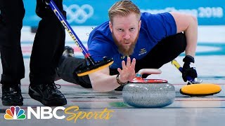 Download Team USA defeats Sweden 10-7 for first curling gold Video