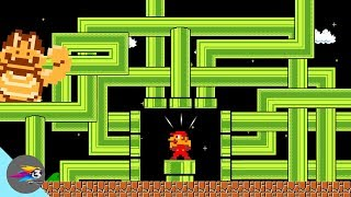 Download Mario Parody∣ How Will Mario Escape From The Endless Pipe World? Video