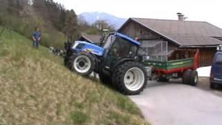 Download Maschinen Gailer Vorführung des Lenktriebachanhängers Video
