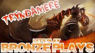 Download BRONZE PLAYS: Tryndamere [CZ] - jak snadno vyhrát Video