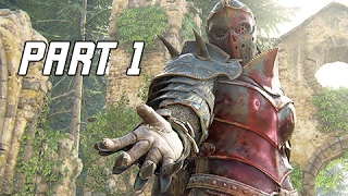 Download FOR HONOR Walkthrough Part 1 – APOLLYON Campaign Story Mode (PS4 Pro Let's Play Gameplay Commentary) Video