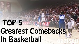 Download Top 5 | Greatest Comebacks In Basketball (Buzzer-Beater) Video