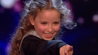 Download Little Magician Issy Blows Everyone Away With Her AMAZING Tricks | Semi Final 2 | BGT 2017 Video
