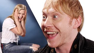 Download Surprise Staring Contest With Rupert Grint Video