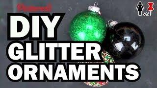 Download DIY Glitter Ornaments - Corinne Vs. Pin #6 Video