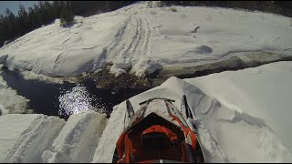Download AXYS RMK Turbo 2 up backcountry riding - sled recovery IQR860 Video