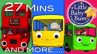 Download Wheels On The Bus | All the videos! | 27 Minutes Compilation from LittleBabyBum! Video