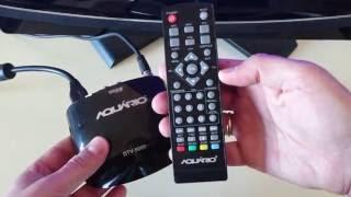 Download Conversor Digital Aquário DTV 5000 Review 4K Video