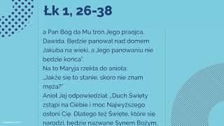 Download Ewangelia - 8 grudnia 2017 - (Łk 1, 26-38) Video