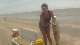 Download Heather's Massive 30LBS Redfish Video