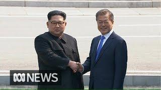 Download Kim Jong-un crosses border into South Korea for historic peace talks Video