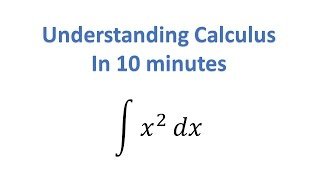 Download Understand Calculus in 10 Minutes Video