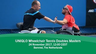Download 2017 UNIQLO Wheelchair Tennis Doubles Masters | Day 3 Video