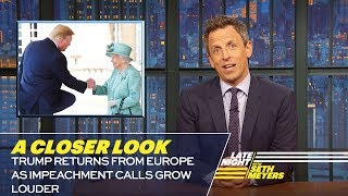 Download Trump Returns from Europe as Impeachment Calls Grow Louder: A Closer Look Video