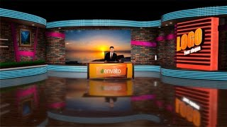 Download 3D Virtual Studio | After Effects template Video
