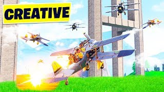 Download FORTNITE CREATIVE MODE 16-PLAYER PLANE WARS GAMEMODE! (8v8 Minigame) Video