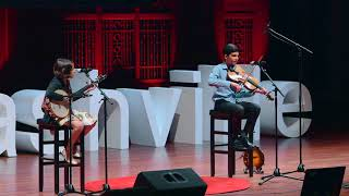 Download Performance | Award-Winning Bluegrass Artists | Giri and Uma Peters | TEDxNashvilleSalon Video