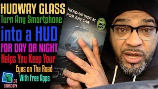 Download Hudway Glass Heads-Up-Display (HUD) for any Vehicle 🚘 : LGTV Review Video