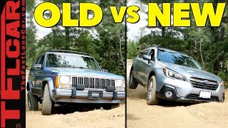 Download Only One Makes It! 2018 Subaru Outback vs Jeep Cherokee vs Gold Mine Hill Video