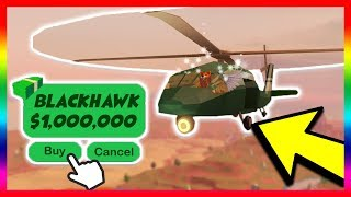 Download BUYING THE NEW MILITARY HELICOPTER! *$1 MILLION DOLLARS!* (Roblox Jailbreak New Update) Video