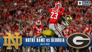 Download Notre Dame vs. Georgia Recap: No.3 Bulldogs Survive Late Push From No.7 Irish | CBS Sports HQ Video