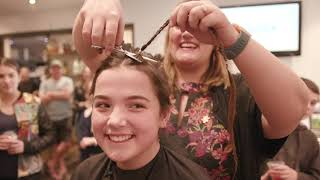 Download Molly's head shave for a cancer free future Video