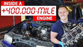 Download Here's What An Engine With 432,000 Miles Looks Like Inside Video