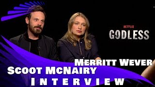 Download GODLESS - Interview with Scoot McNairy and Merritt Wever Video