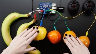 Download Adafruit Capacitive Touch HAT for Raspberry Pi - Mini Kit - MPR121 Video