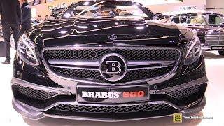 Download 2018 Mercedes AMG S65 Coupe Brabus 900 - Exterior and Interior Walkaround - 2017 Frankfurt Auto Show Video