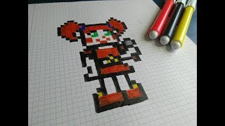 Download Como dibujar a Baby   FNAF   Pixel Art Video