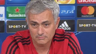 Download Jose Mourinho Pre-Match Press Conference - Benfica v Manchester United - Champions League Video