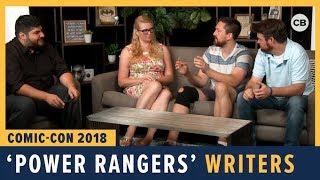 Download Power Rangers Writers - SDCC 2018 Exclusive Interview Video