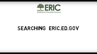 Download Searching eric.ed.gov Video
