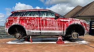Download Range Rover Evoque Wheels-Off Wash Video