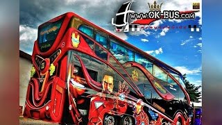 Download อู่สุดล้ำ!!! สร้างรถบัสซุปเปอร์ฮีโร่ คันเป็นสิบล้าน Video