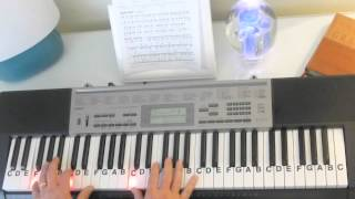 Download How to Play ~ How Great Thou Art ~ Key of Bb - Gospel Song ~ LetterNotePlayer © Video