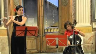 Download Mozart eine kleine nachtmusik svetlana Tovstukha cello Mariko Nambu Flute Video