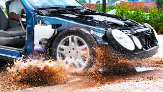Download Driving Through Potholes in 4K Slow Motion - See Through Car (S1 • E1) Video
